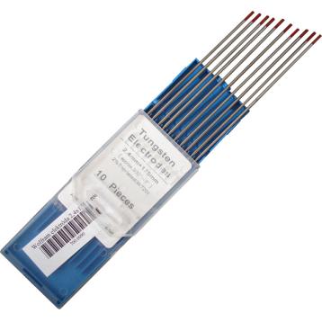 Wolfram elektróda 175x2,4mm piros