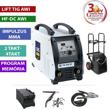 TIG 300 DC HF - WDB Pack (vízhűtővel, kocsival)