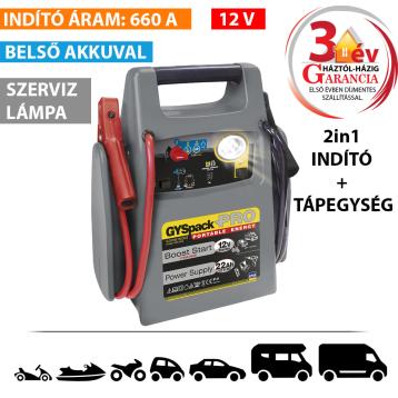 Gyspack PRO akkumulátoros indító