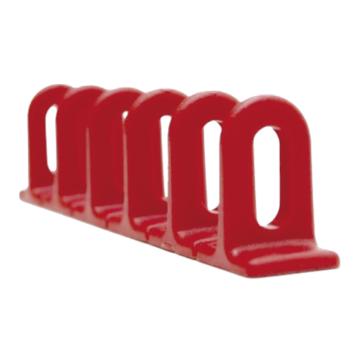 Multipad piros lapos 6x22x156 mm 3db/csomag