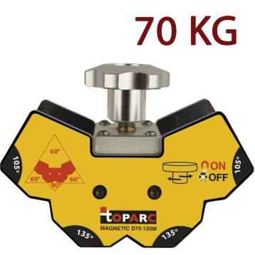 Mágneses szögbeállító (demagnetizálható) - 70 kg - GYS D70.120M
